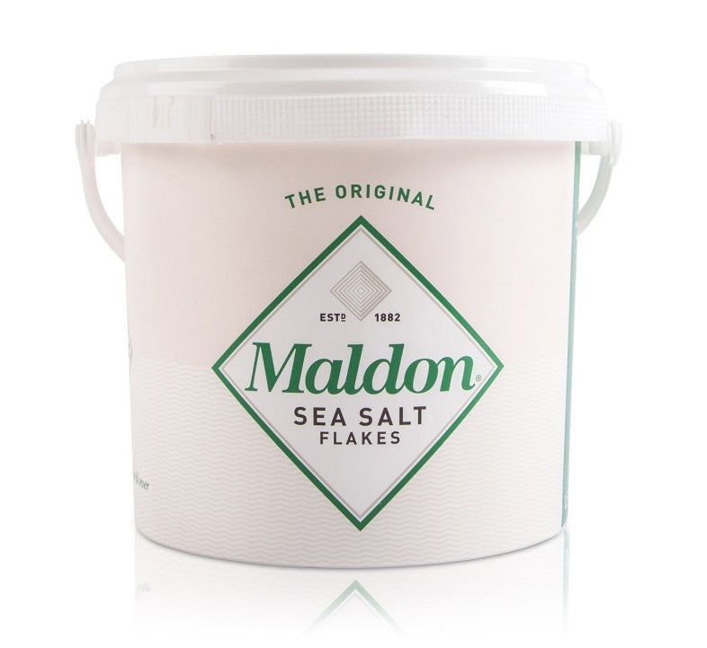 Maldon Sea Salt Pyramid Crystals: 3.3lbs