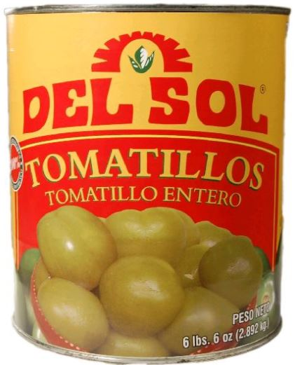 Tomatillos Whole: 10Lbs