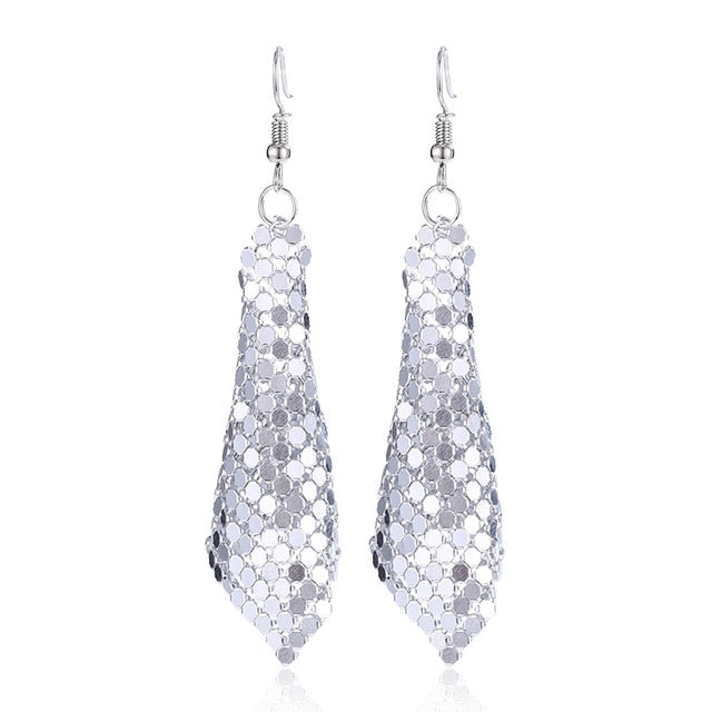 Dali Retro Sequin Earrings
