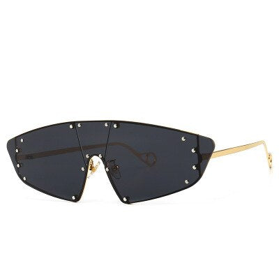 Rivet Shield Sunglasses