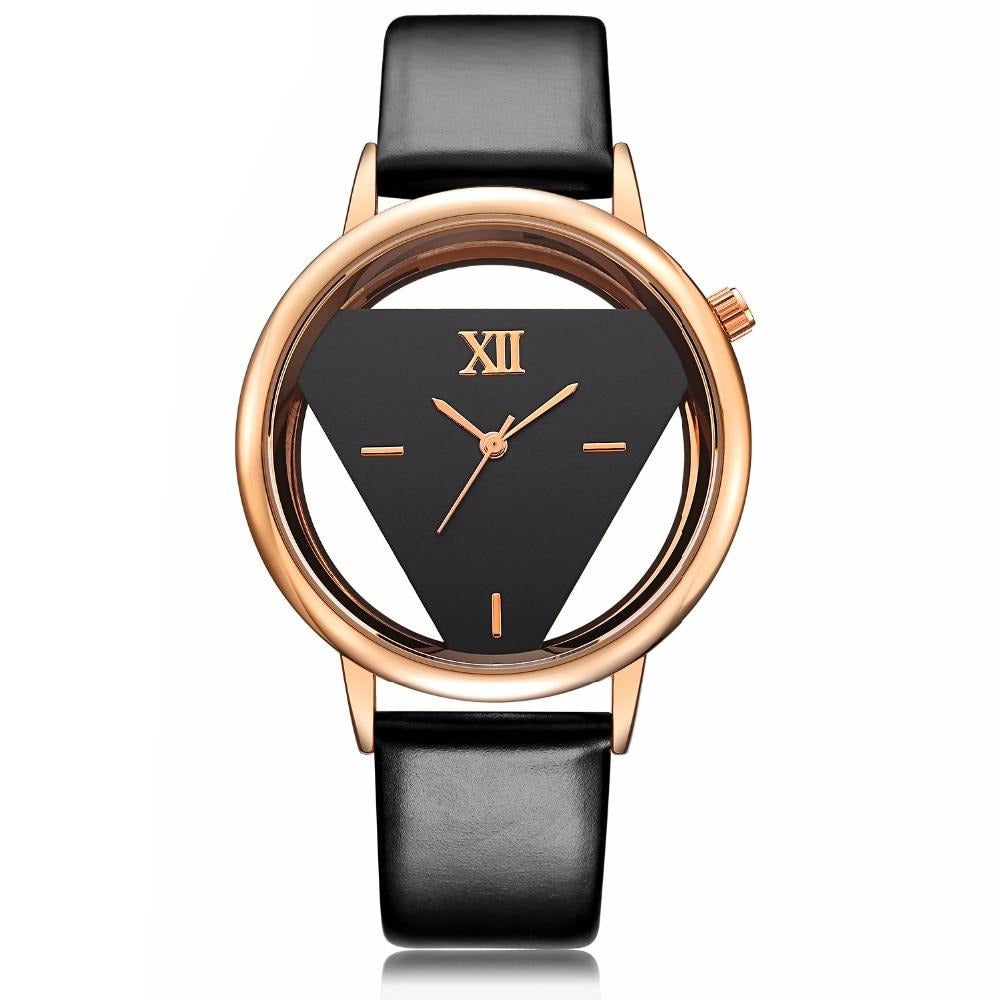 Trianon Luxe Leather Watch