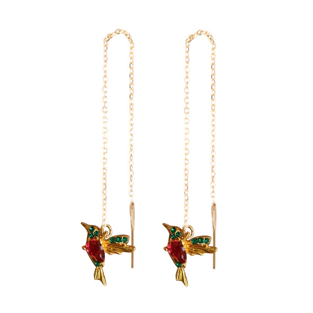 Darlene Hummingbird Drop Earrings