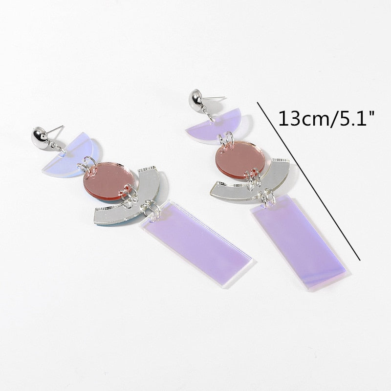 Luminescence Geometric Earrings