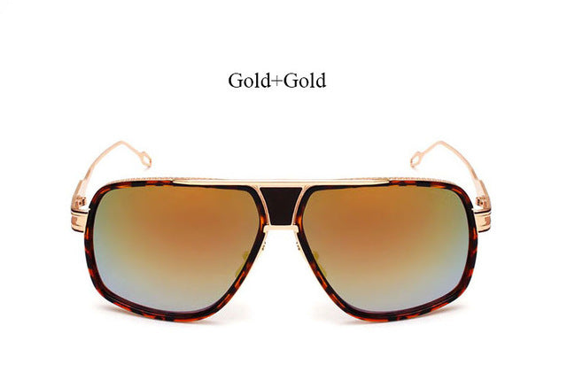 Javier Flat Top Aviator Sunglasses