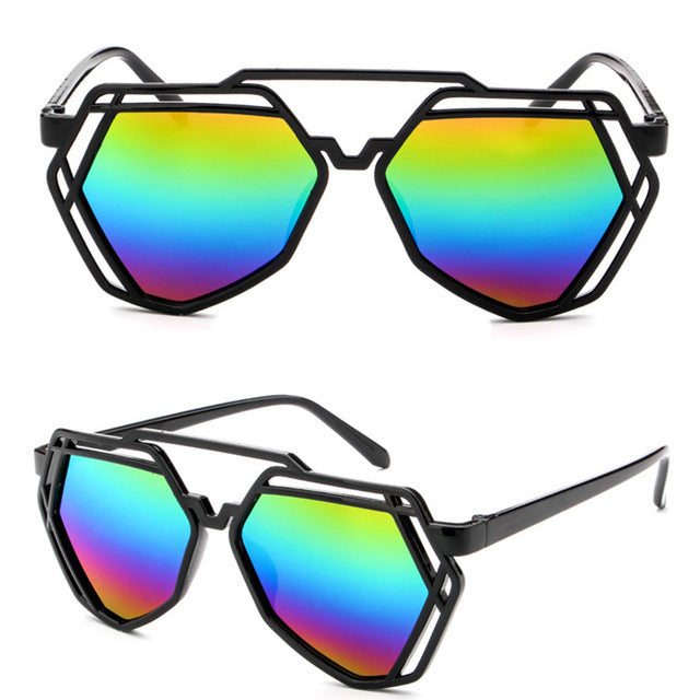 Pride Geometric Sunglasses