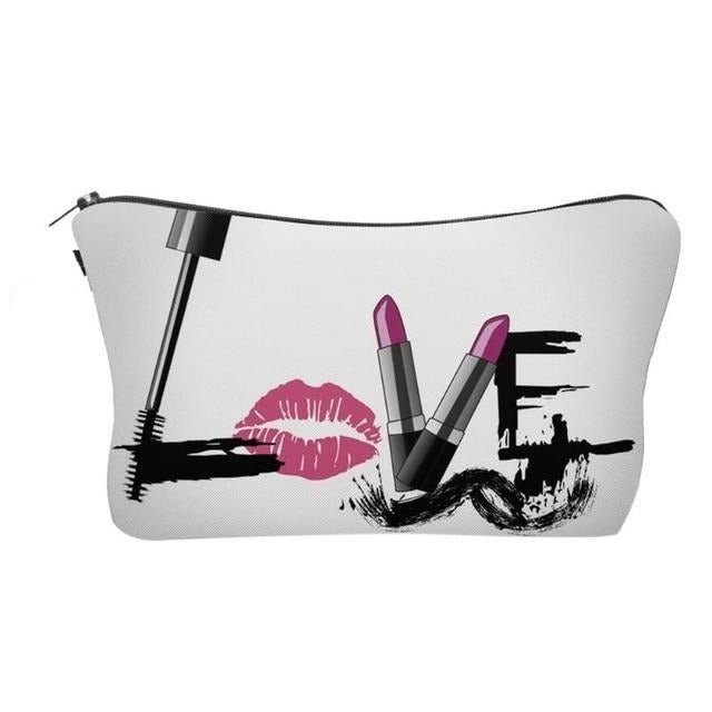 Love Makeup Bag