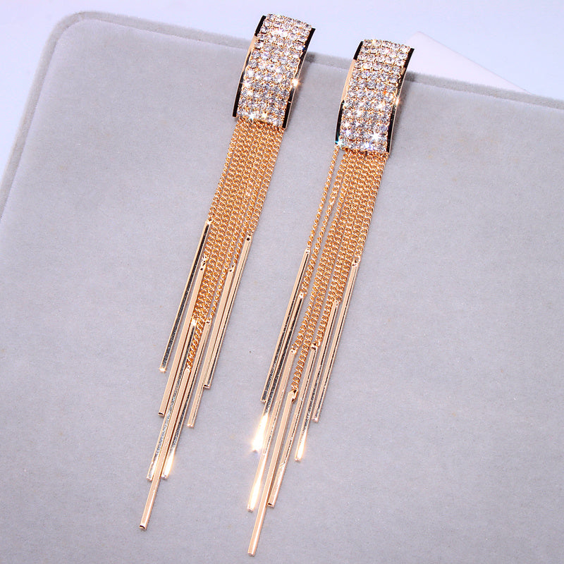 Deco Dangle Earrings
