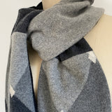 'Dashing' 100% Cashmere Recycled Sweater Scarf