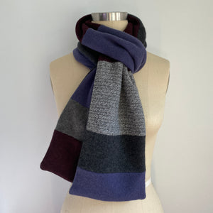 'Fireside' 100% Cashmere Recycled Sweater Scarf