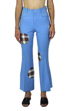 Dot insertion trouser