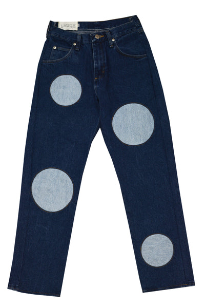 DOT INSERTION JEANS | CUSTOM