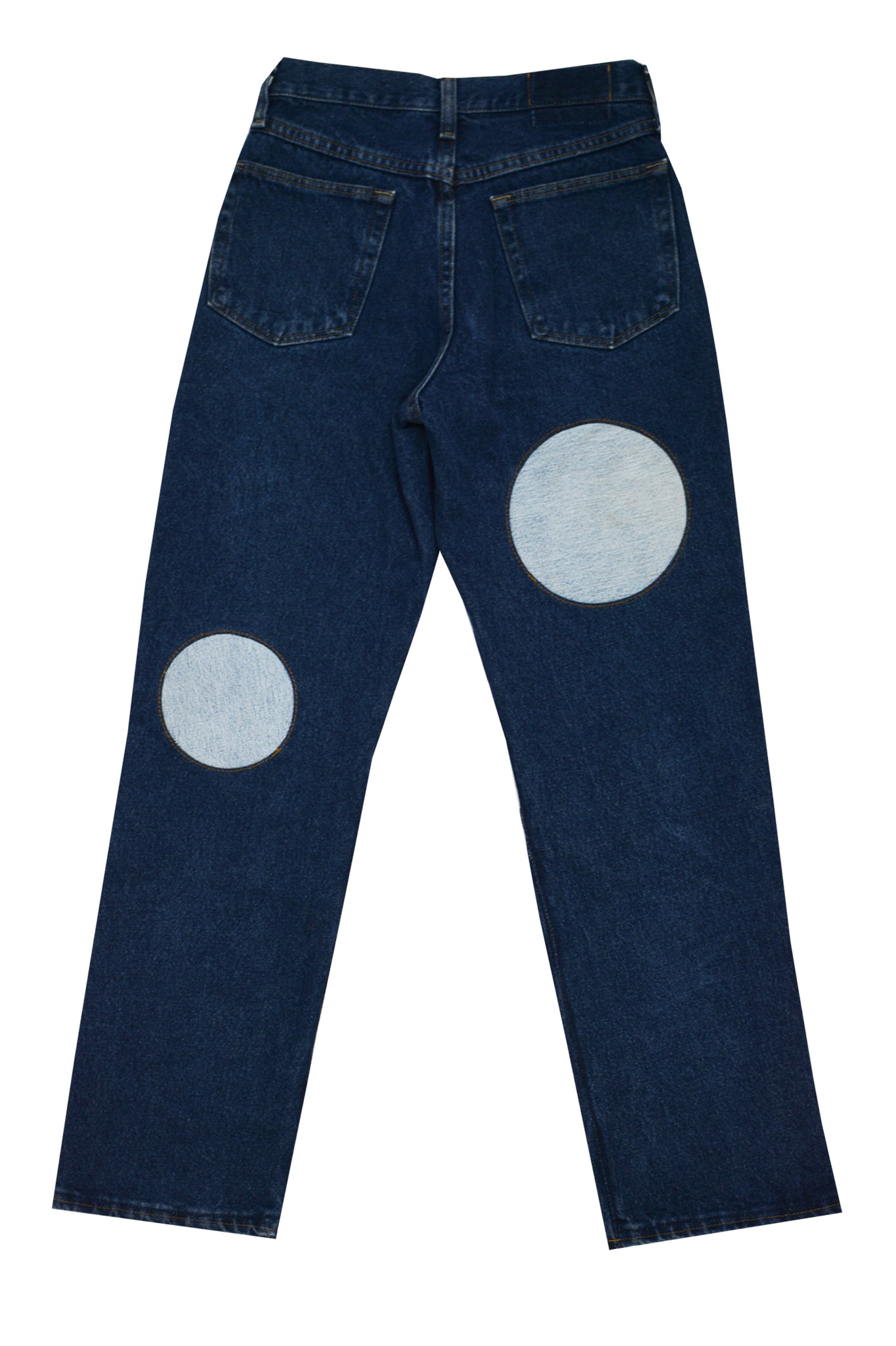 DOT INSERTION JEANS | MADE-TO-ORDER