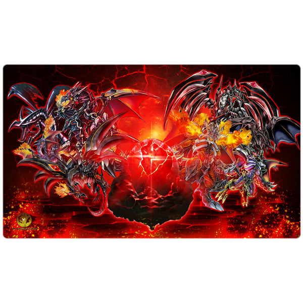 Red-Eyes Black Dragon Yugioh Playmat - Yugimation