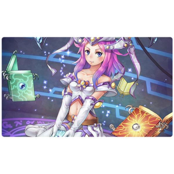 High Priestess of Prophecy Spellbook Yugioh Playmat