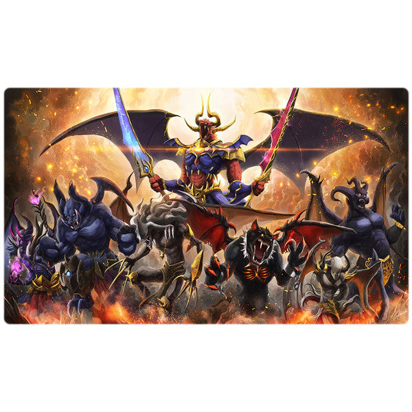 Burning Abyss Yugioh Playmat