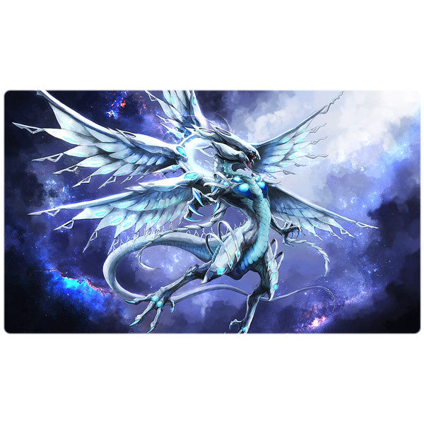 Blue-Eyes Alternative White Dragon Yugioh Playmat