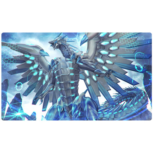 Blue-Eyes Chaos MAX Dragon Yugioh Playmat