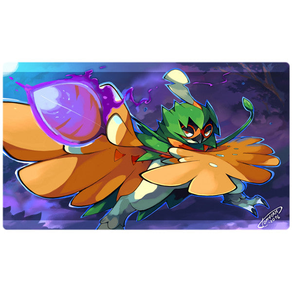 Decidueye Solo Pokemon Playmat - Virbank March Give-a-way