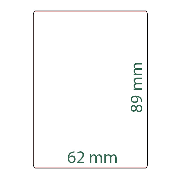 Custom Card Sleeves (Small) (60 Count)