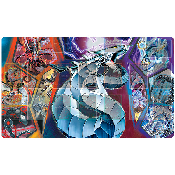 Cyber Dragon Playmat Stitched - QuickDrawYGO