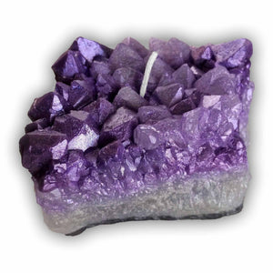 CRYSTAL CLUSTER Candle - Amethyst