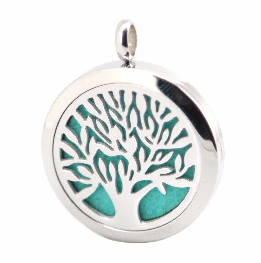 Aromatherapy Stainless Steel Diffuser Pendent Tree of Life