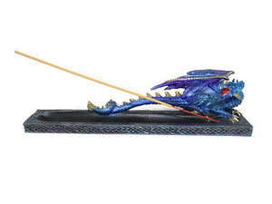 Dragon Incense holder - Blue Dragon