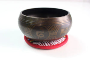 Buddha Eye Metal Tibetan Singing Bowl - 10cm