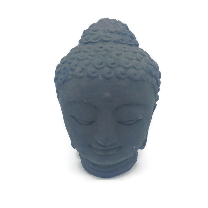 Buddha - Solid cast Buddha head made in Bali