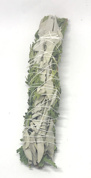 White Sage and Cedar Smudge