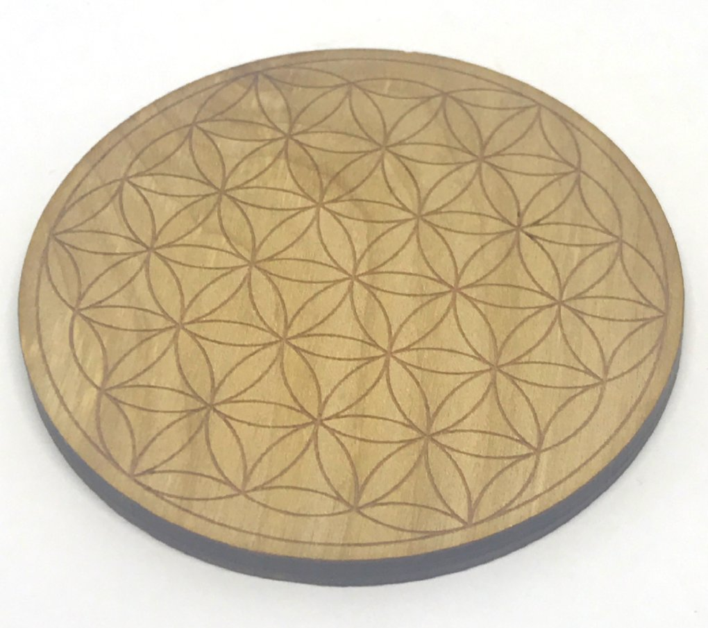 Flower of Life Crystal Grid-3""