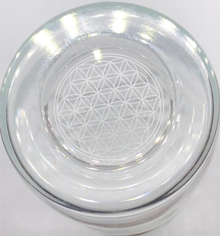 Water Bottle with Flower of Life - Lagoena 700ml