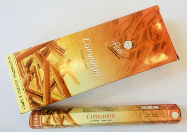Cinnamon Incense 20 Sticks (Fluke)