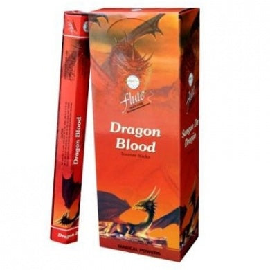 FLUTE Dragons Blood Incense