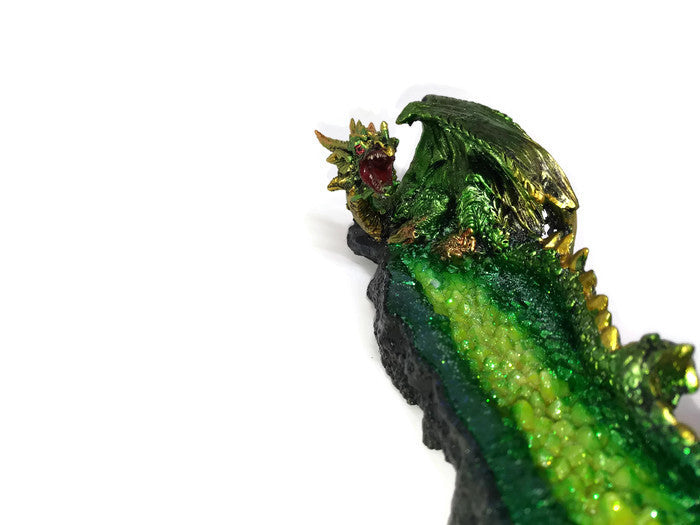 Dragon Incense holder - Green Dragon
