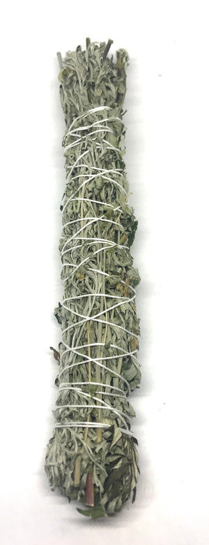 Wormwood, White Sage & Mugwort Smudge