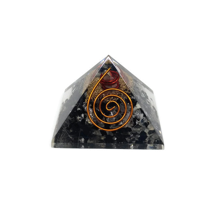 Orgone Energy Pyramid - Black Tourmaline