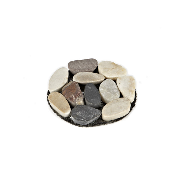 Stone Pebble Coaster