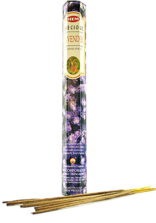 Lavender incense HEM-20 sticks