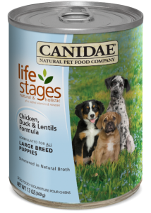 CANIDAE® Life Stages - Large Breed Chicken, Duck & Lentils Formula for Puppies