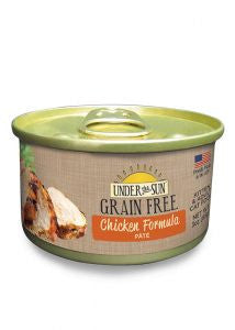 CANIDAE Under the Sun Grain-Free Chicken Pate Canned Cat Food