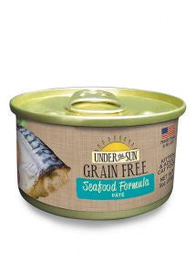 CANIDAE Under the Sun Grain-Free Seafood Pate Canned Cat Food