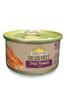 CANIDAE Under the Sun Grain-Free Trout Pate Canned Cat Food