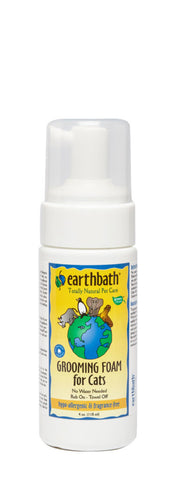 Earthbath Hypo Allergenic Cat Foam