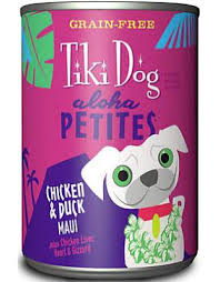 Tiki Dog Chicken & Duck Maui Canned Dog Food