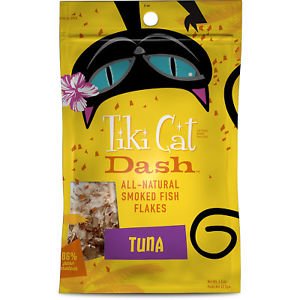 Tiki Cat All Natural Smoked Fish Flakes - Tuna