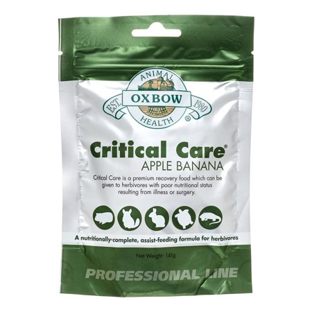 Oxbow Critical Care Apple & Carrot Herbivore Food
