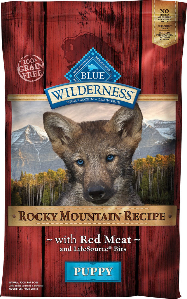 BLUE Wilderness® Rocky Mountain Recipe™ Red Meat Dry Recipe for Puppies