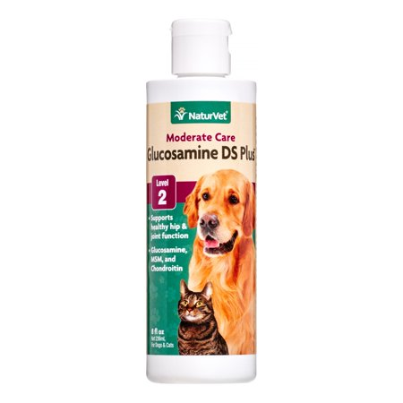 NaturVet Moderate Care Glucosamine DS Plus MSM for Dogs & Cats