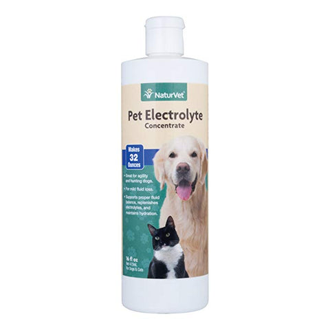 NaturVet Pet Electrolyte Concentrate for Dogs & Cats